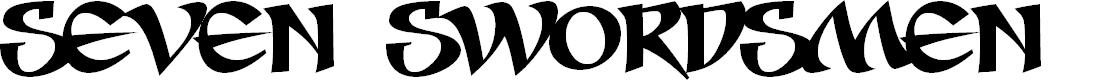 Preview image for Seven Swordsmen BB Font