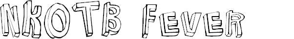 Preview image for NKOTB Fever Font