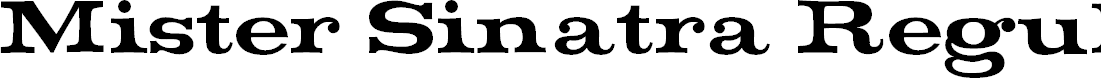 Preview image for Mister Sinatra Regular Font