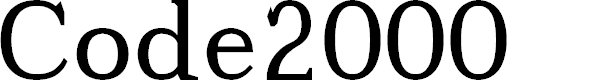 Preview image for Code2000 Font