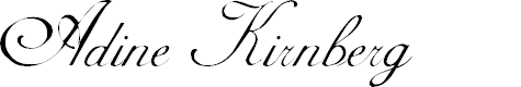 Preview image for Adine Kirnberg Regular Font
