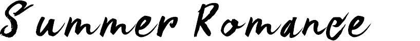 Preview image for DK Summer Romance Regular Font