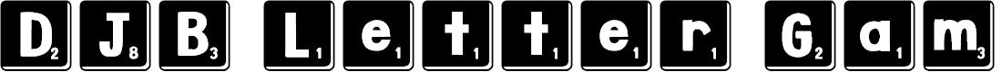 Preview image for DJB Letter Game Tiles 3