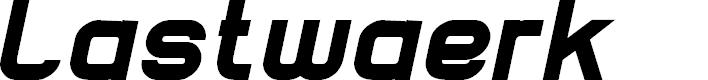 Preview image for Lastwaerk black Oblique
