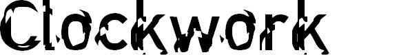 Preview image for Clockwork Regular Font