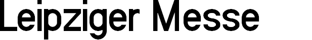 Preview image for Leipziger Messe Font