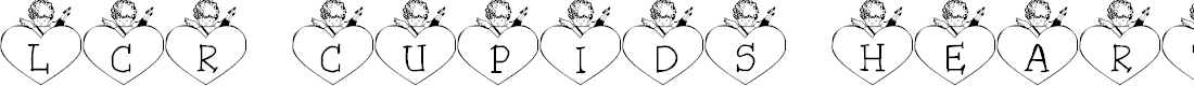 Preview image for LCR Cupid's Heart Font