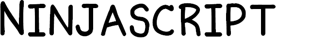 Preview image for Ninjascript Smallcaps
