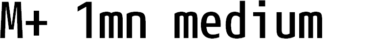 Preview image for M+ 1mn medium