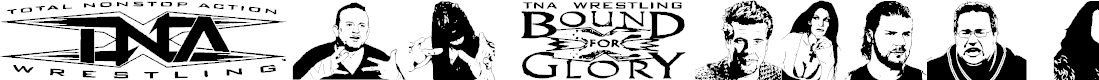 Preview image for TNA Bound for Glory Font