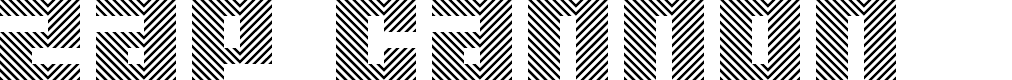 Preview image for Zap Cannon Regular Font