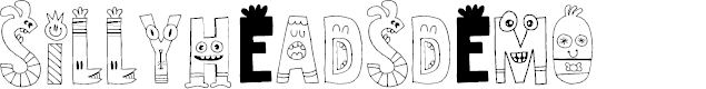 Preview image for SillyheadsDEMO Font