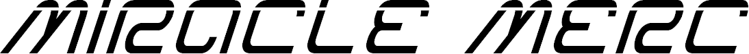 Preview image for Miracle Mercury Laser Italic