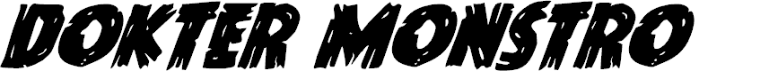 Preview image for Dokter Monstro Super-Italic