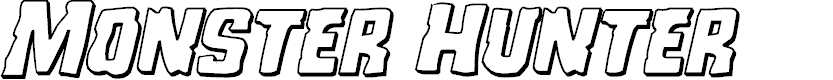Preview image for Monster Hunter 3D Italic