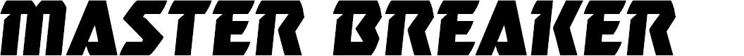 Preview image for Master Breaker Semi-Italic