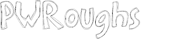 Preview image for PWRoughs Font