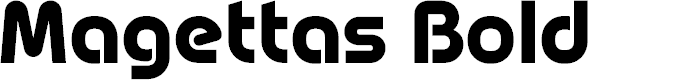 Preview image for Magettas DEMO Bold Font
