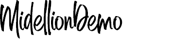 Preview image for MidellionDemo Font