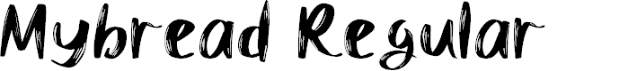 Preview image for Mybread Regular Font