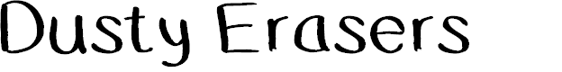 Preview image for DustyErasers Font