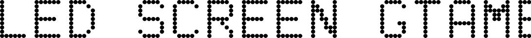 Preview image for LED SCREEN GTAMBLOG CAPS+ 2.0 Regular