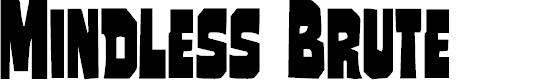 Preview image for Mindless Brute Condensed Condensed