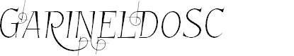 Preview image for GarineldoSC Font