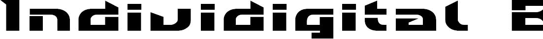 Preview image for Individigital Black Font