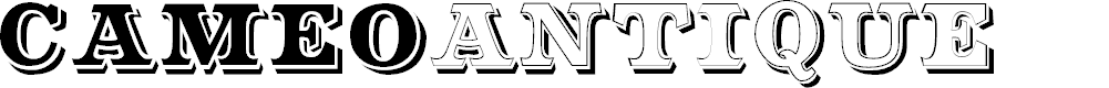 Preview image for CameoAntique Font