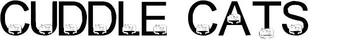 Preview image for LMS Cuddle Cats Font