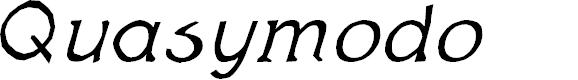 Preview image for Quas Italic