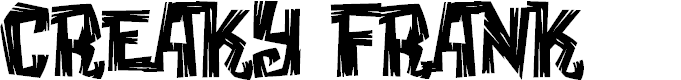 Preview image for Creaky Frank Font
