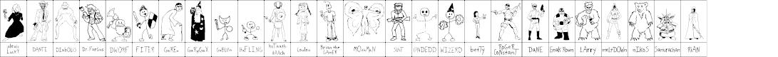 Preview image for SPARKS Scrapbook Font