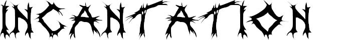 Preview image for Incantation Font