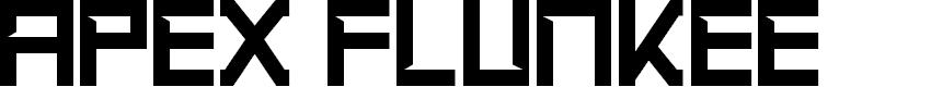 Preview image for Apex Flunkee Regular Font