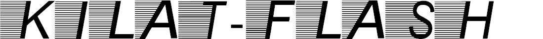 Preview image for Kilat-Flash Font