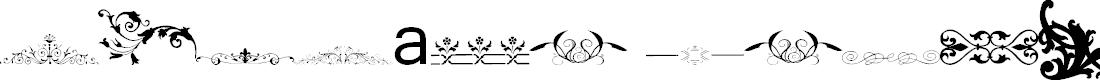 Preview image for Vintage Decorative Signs 14 Font
