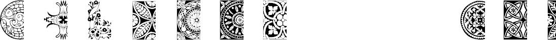 Preview image for AEZ deco dings Font