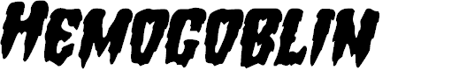 Preview image for Hemogoblin Staggered Italic