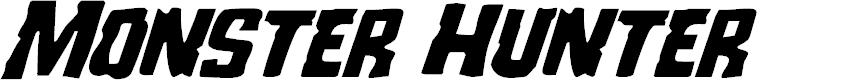 Preview image for Monster Hunter Super-Italic