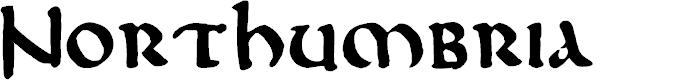 Preview image for DKNorthumbria Font