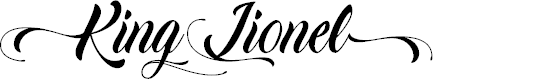 Preview image for King Lionel - Personal Use Font