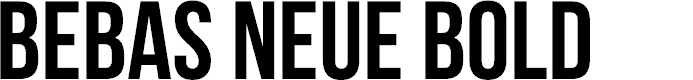 Preview image for Bebas Neue Bold Font
