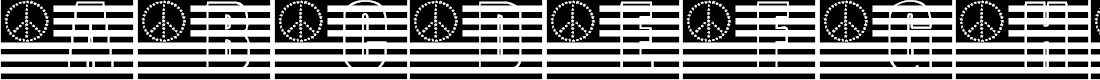 Preview image for KR A Time For Peace Font