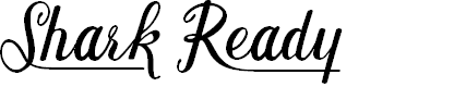 Preview image for Shark Ready Font