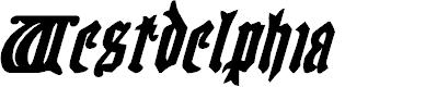 Preview image for Westdelphia Bold Italic