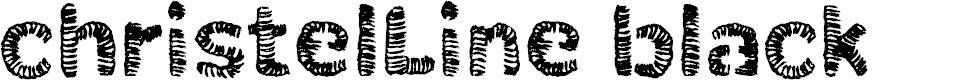 Preview image for ChristelLineblack Font