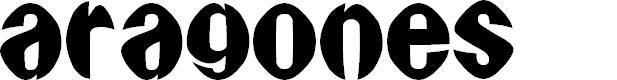 Preview image for Aragones Font