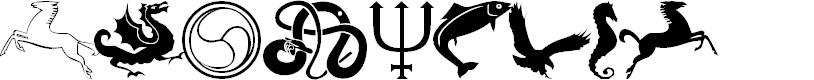 Preview image for 101! Celtic Astrologer Font